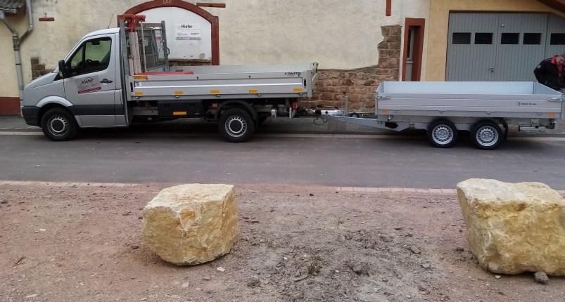 3,5 Tonner Dreiseitenkipper mit 3,5 to Tieflader-Kipper