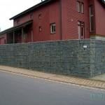 Gabionen Stützwand