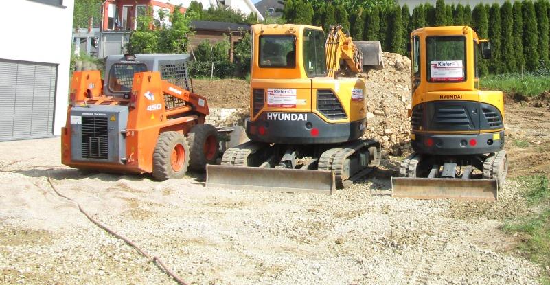 Kettenbagger 2,6 + 6 Tonnen  und Kompaktlader