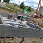 Kellermauerwerk im Plansteinverfahren
