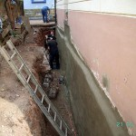 Sanierung Kelleraussenwand