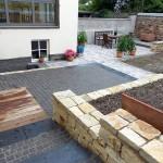 Sanierung Kellerwaende und Gartengestaltung